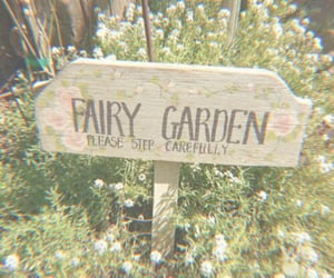 garden, fairy, and aesthetic image