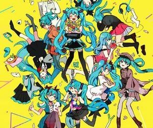 hatsune miku, vocaloid, and japonese vocaloid image