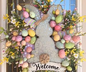 easter eggs, farmhouse, and eastereggs image