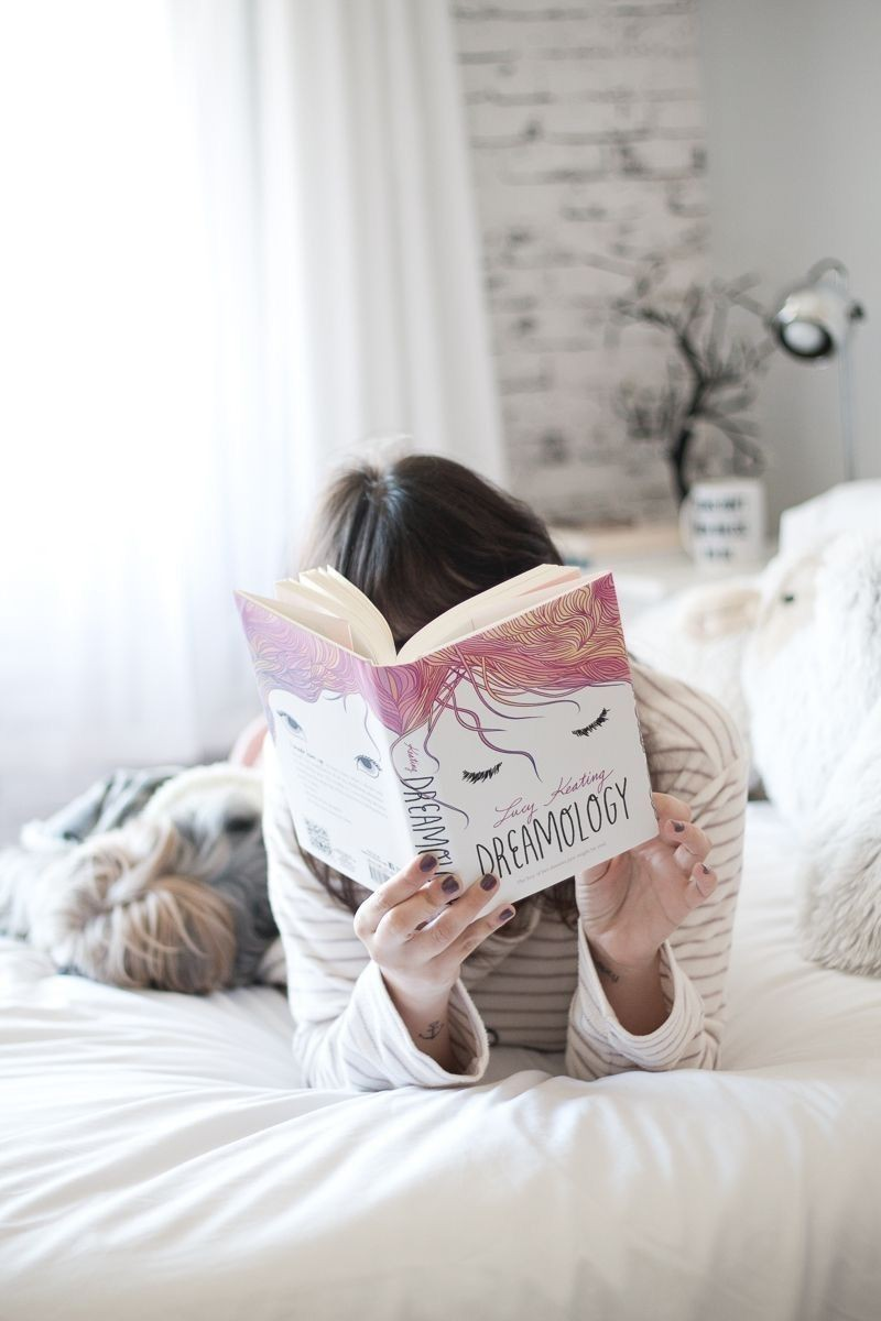 book, dreamology, and pink image