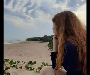 beach, clouds, and feels image