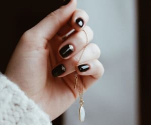 accessories, black, and gold image