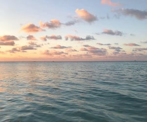 sea, beautiful, and sky image