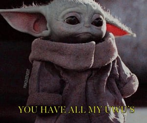 baby yoda, pinkqueen, and cute image