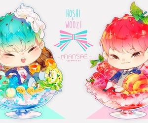 fan art, jihoon, and soonyoung image