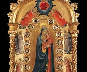 italy, fra angelico, and madonna of the star image