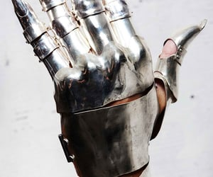 the hand and this armour image