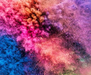 colorful and color run image