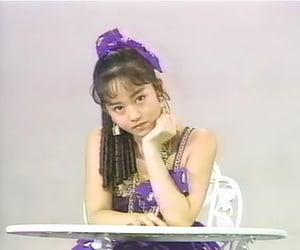 80s, idol, and purple image