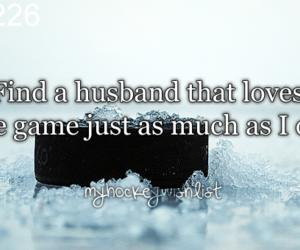 hockey, hockey players, and love image