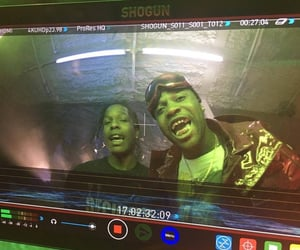 asap rocky, ghetto, and rappers image