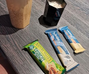 breakfast, wellmix, and coffee image