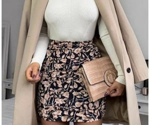 clothes, outfit, and skirt image