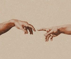 art, beautiful, and cream image