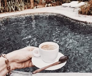 aesthetic, chill, and coffee image