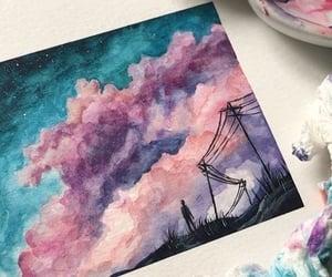 art, drawing, and imagination image