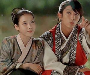 drama, south korea, and iu image