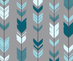 arrow, arrows, and blue image