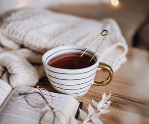 aesthetic, cozy, and tea image