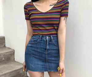 aesthetic, kstyle, and korean outfits image
