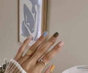 nail polish, aesthetic, and art image