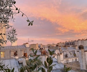 architecture, french, and pastel colors image