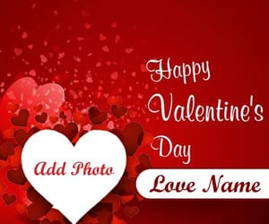 name and photo add, personal name print, and valentines day wallpapers image