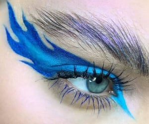 blue, beauty, and eyes image