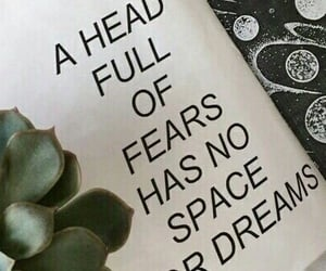 Dream, fear, and green image