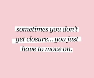 closure, mental health, and quote image