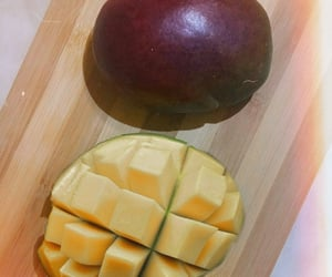 food, mango, and yummy image