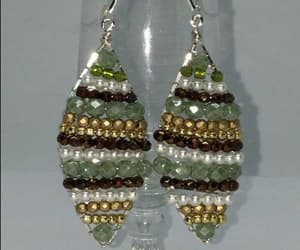 birthday, sterling silver, and christmas earrings image
