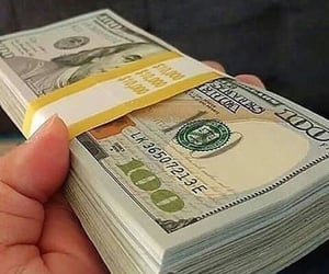 dollars, euro, and fake money for sale image