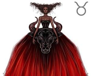 taurus, zodiac, and art image