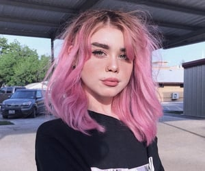 girl and pink image