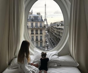 breakfast, morning, and parisian image