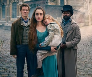 bbc, dominic west, and les miserables image