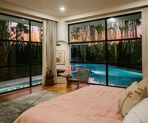 pool, bedroom, and interior image