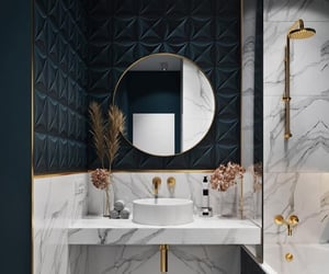 bathroom and marble image