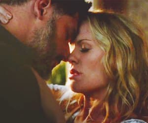 couple, romance, and true blood image
