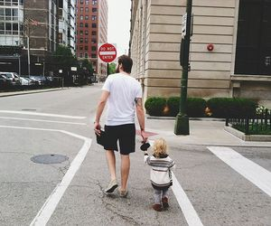 chicago, dad, and daughter image