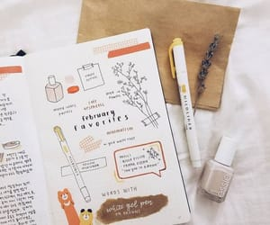 bujo, bullet journal, and journal image