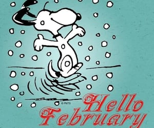 february, 👋, and happy image