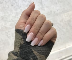 nails, babyboomer, and aesthetic image