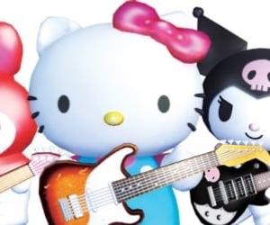 band, kuromi, and my melody image