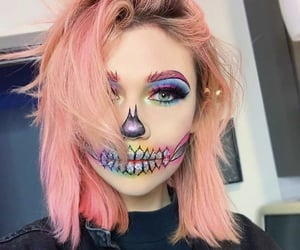 makeup, Halloween, and jessie paege image