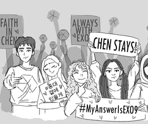 Chen, exo, and idol image