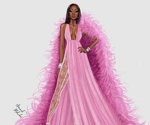 art, pretty, and fashion illustration image
