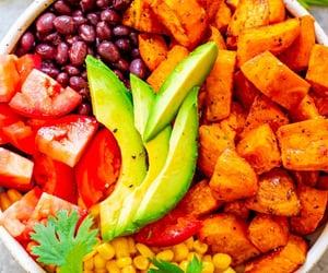 vegan, vegetarian, and vegan food image