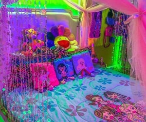 bedroom, y2k, and aesthetic image
